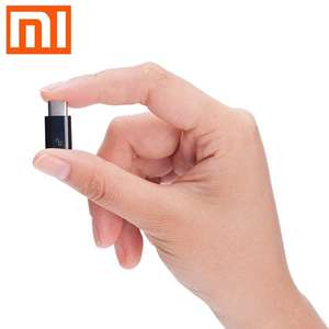 Original XiaoMi USB Type-C Male to Micro USB Female Connector 1p delivered w/code @ Rosegal