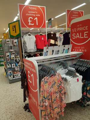 Women's tops £1 @ Morrisons - Speke