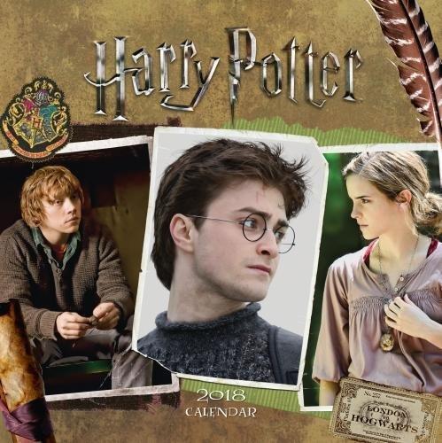 Harry Potter Official 2018 Calendar - £1.25 prime / £4.24 non prime @ Amazon