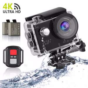 Siroflo Ultra HD 4K Action Camera - Black £26.92 Delivered with code @ Gamiss
