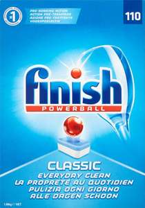 Finish Powerball Dishwasher Tablets (110 pack) - £8 @ Poundworld