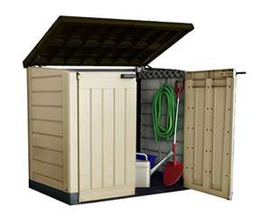 Keter Store It Out Max Outdoor Plastic Garden Storage Shed, 145.5 x 82 x 125 cm - Beige/Brown £114 @ Amazon