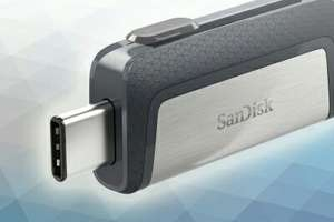 SanDisk Ultra Dual Drive USB Type-C Flash Drive - 128GB for 32.99 delivered @ Picstop