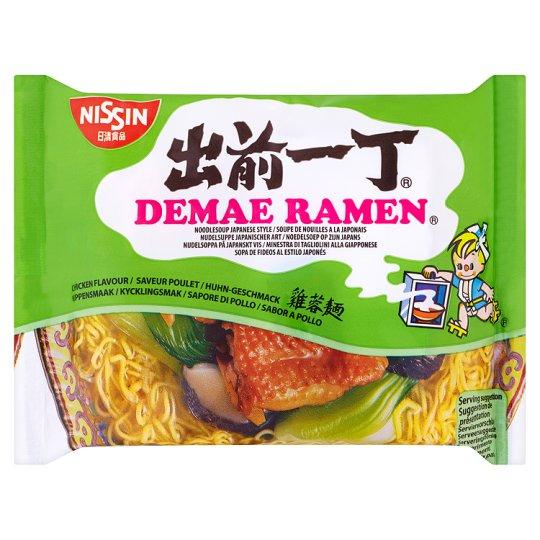 Nissin Demae Ramen Chicken Noodles 100GNissin Demae Ramen Chicken Noodles 100G 50p or Any 3 for £1.00 at Tesco