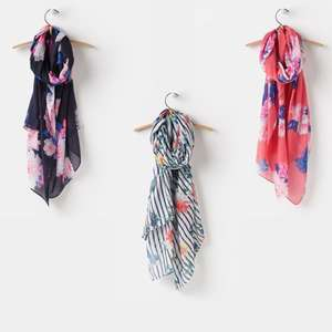 Joules Women's Wensley Scarves £5.60 each delivered @ Joulesclothingoutlet  / eBay