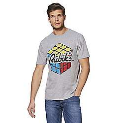 Mens rubiks cube t-shirt sizes M,L,XL,XXL £4 @ tesco direct