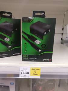 XBOX ONE PLAY AND CHARGE KIT £3.50 @ Tesco instore - llandudno Junction
