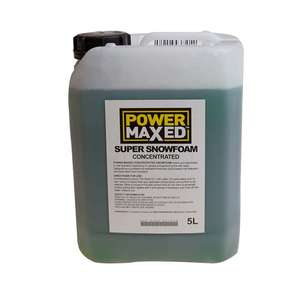 Powermaxed Super Snow Foam 5l!!! £16.79 CarParts4Less - Free Shipping!