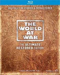 The World at War  [Blu-ray] - The Ultimate Restored Edition (9 discs) - £18 @ networkonair.com