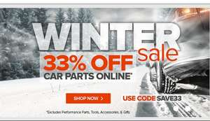 Euro Car Parts Winter Sale - Save 33%