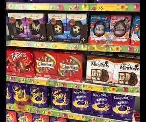 3 for £10 on large Easter Eggs @ Morrisons, Includes Kinder Surprise Egg