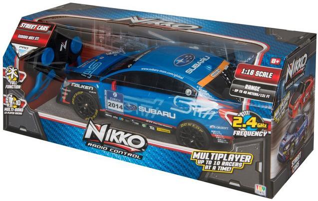 Nikko Radio Controlled Street Car Subaru £10.90 @ Halfords