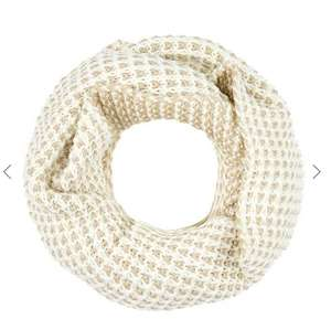 Accessorize snood with metallic highlights was £19,then £9.50 NOW £5.70 @ houseoffrasier