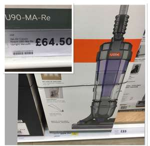 VAX U90-Air classic Reach £64.50 @ Tesco instore