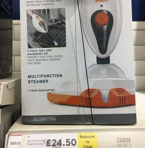 VAX SCMMV1sg Floor Steamer/Cleaner £24.50 @ Tesco - Chelmsford