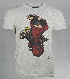 Street Fighter V Ken T-Shirt Size Medium - £2.50 delivered at Game