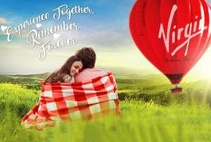 Virgin Champagne Balloon Flight - Any Time @ Over 100 UK Locations! @ Wowcher