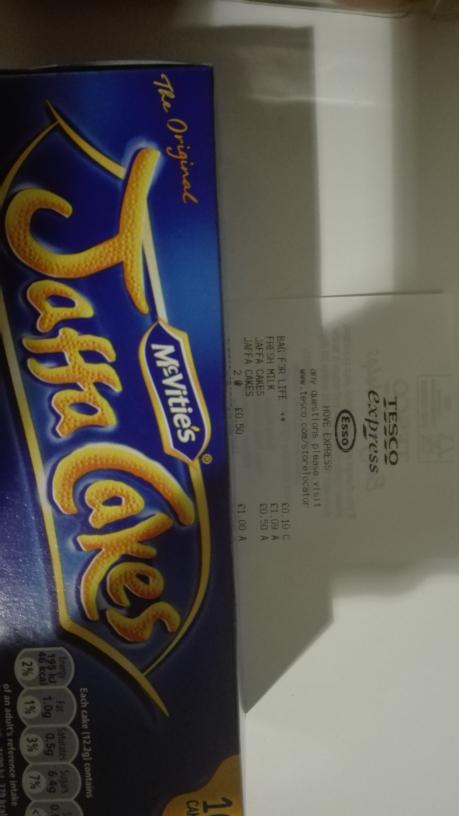 Jaffa Cakes @ 0,50p instore @ Tesco Express (Hove)
