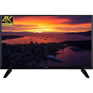 "Techwood 43AO6USB 43"" Freeview HD and Freeview Play Smart 4K Ultra HD TV - £279 @ AO"
