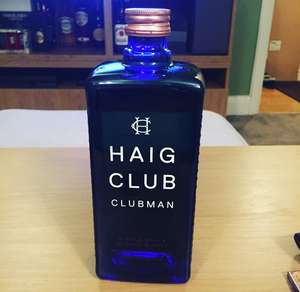 Haig Club Clubman 700ml - £15 instore @ Asda