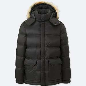 MENS DOWN JACKET UNIQLO - SIZE M - £29.90 @ Uniqlo (plus £3.95 P&P)