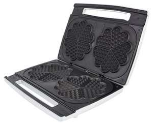 Double Waffle Maker @ Clas Ohlson  Twice as fast as comparable singles:) - £18.99 plus £4.95 P&P