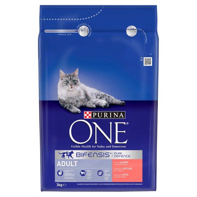 3Kg Purina One cat biscuits £11 @ Asda