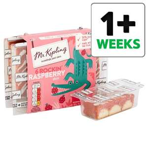 Reductions of up to 50% on various Mr Kipling slices @ Tesco