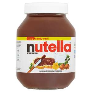 Nutella Hazelnut Chocolate Spread 1KG £3.80  @ Tesco online & instore