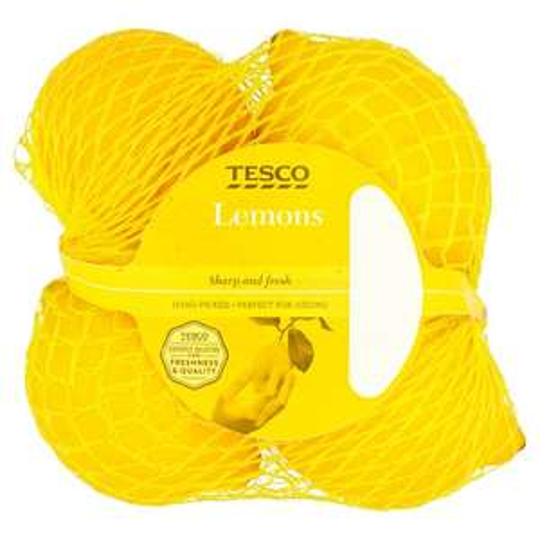 Lemons Minimum 5 Pack 80p @ Tesco online and instore from 07/02