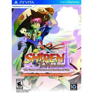 Shiren the Wanderer: The Tower of Fortune and the Dice of Fate [Eternal Wanderer Edition] PS Vita US Version £29.25 @ Play-Asia