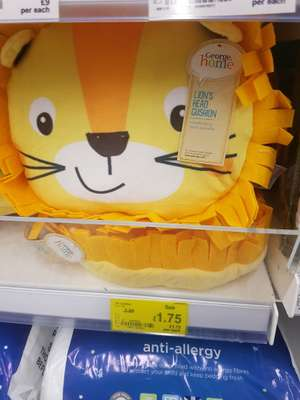 George home lion head cushion £3.50 @ Asda - hunts cross Liverpool