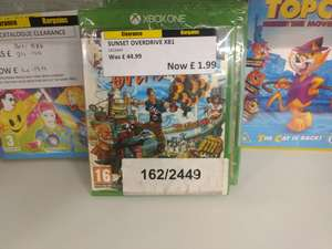 Sunset Overdrive £1.99 in Clearance Bargains.(Argos) instore - Walsall branch