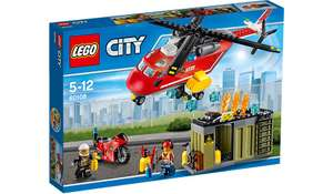 Lego city 60108 fire response unit age 5-12 years now £ 17 @ asda
