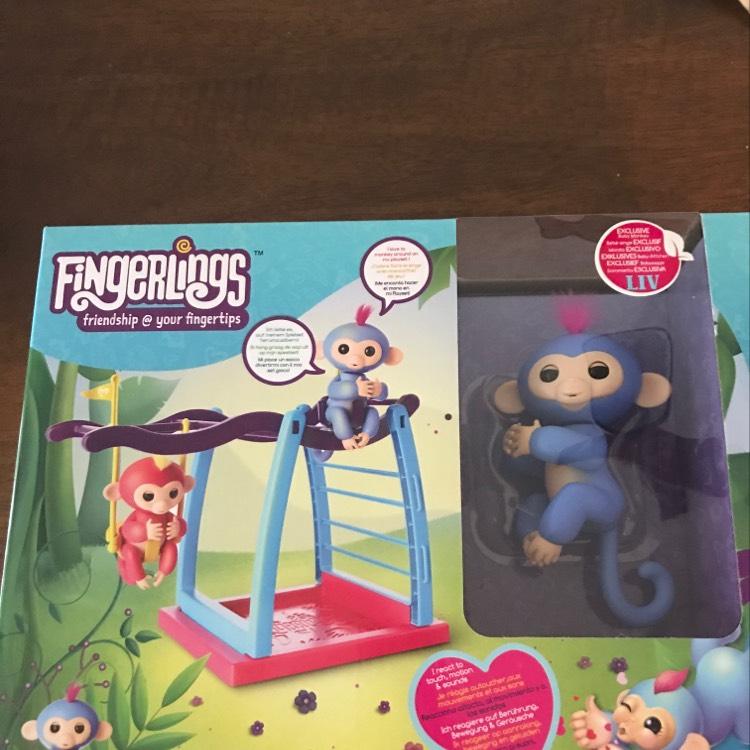 Fingerlings monkey bar playset £6.20 @ Asda - Bishopbriggs