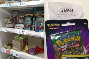 Pokemon Sun & Moon Checklane £3.50 / 3-Pack Blisters £7 instore @ Tesco Extra West Bromwich