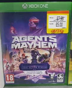 Agents of Mayhem - Day One Edition (Xbox One) £5 Instore @ Smyths