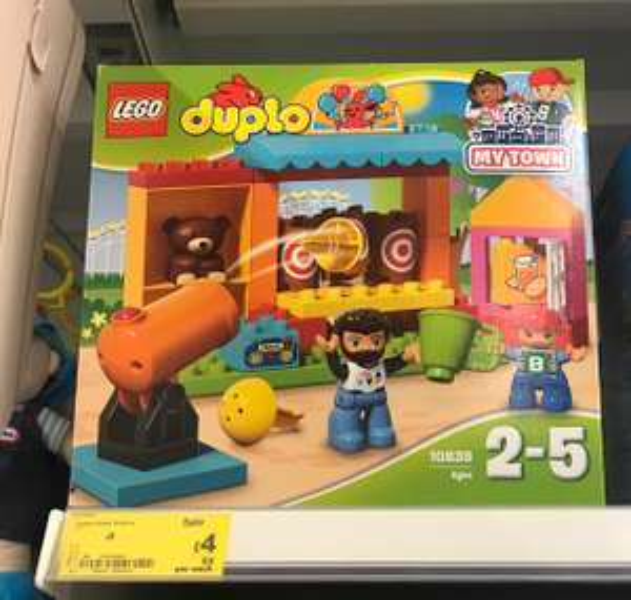 Lego Duplo 10839 Shooting Gallery - £4 @ Asda Hyson Green, Nottingham