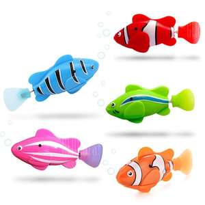 Fish Style Electronic Sensing Bath Toy 5PCS for £4.40 delivered @ Gearbest (check out the video)