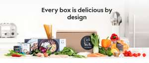 Cook Well from Waitrose - Weekly delivery of fresh ingredients for delicious meals - 50% off first delivery