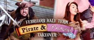 Alton Towers Half Term Princess and Pirates Family Break Includes 1 Day in the Waterpark + Alton Towers Hotel Stay + Lots More now from £31pp (Based on 2 A + 2 C £124)