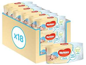 1008 Huggies Wipes for £6.84 Amazon - Using subscribe & save and 20SNSPRIME