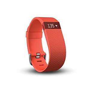Fitbit Charge HR Heart Rate and Activity Wristband Tangerine Large - £45.69 @ Amazon
