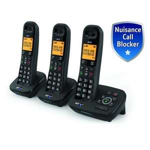 BT 1700 Cordless Phones with Answering Machine and Nuisance Call Blocker - Trio now £29.99 C+C @ Robert Dyas