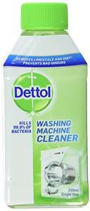 Dettol Washing Machine Cleaner 250 ml - £2.50 (Add on item) @ Amazon