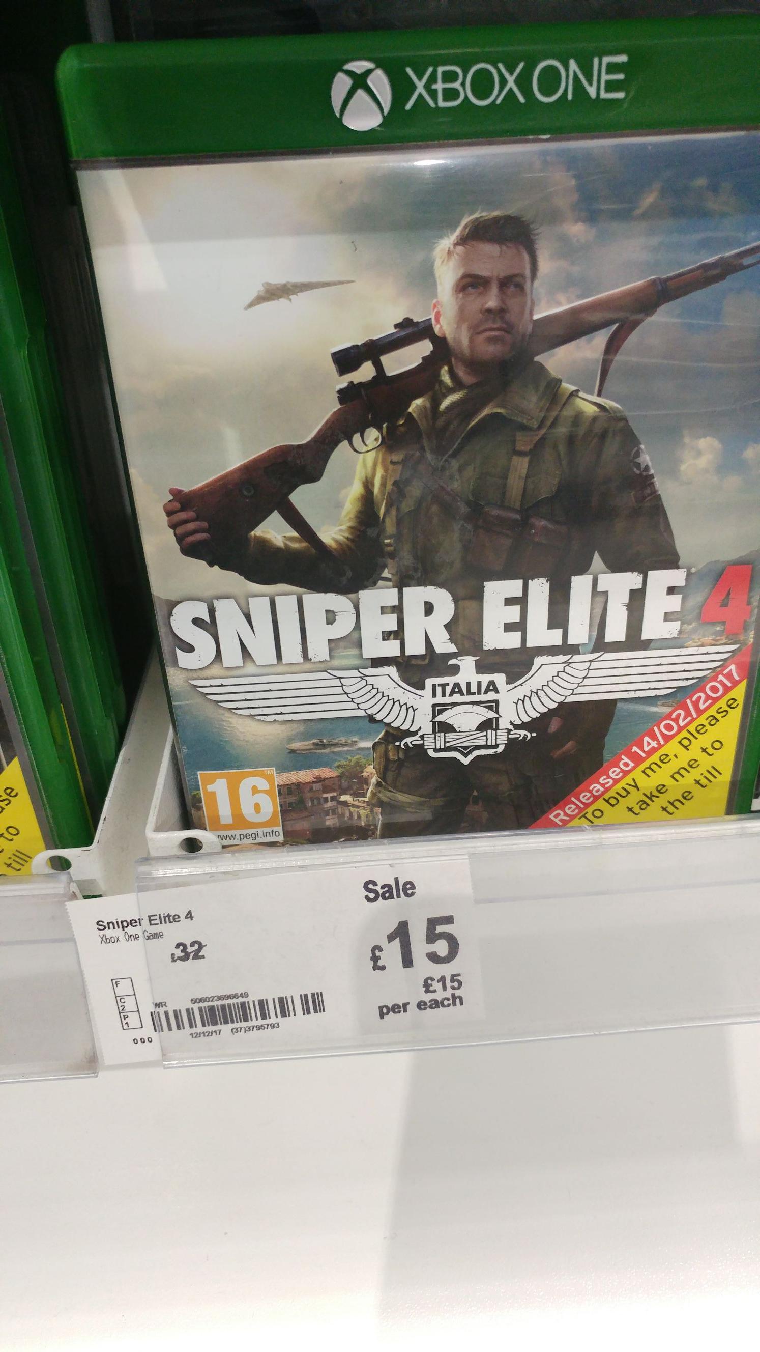 Xbox one games clearance @ asda instore (Leeds) Mafia 3 - £10 / Tekken 7 - £7.50 & More