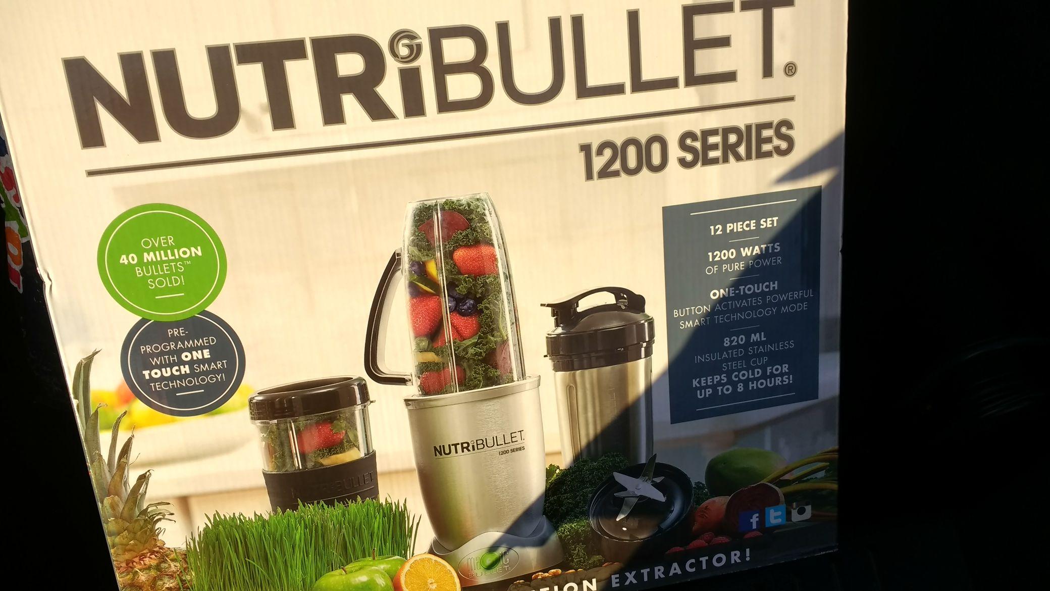 Nutribullet 1200 Kit @ Tesco Extra Aberdeen (Danestone) - £55.60