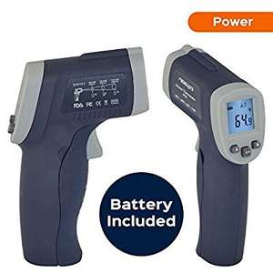 MeasuPro Lasergrip IRT20 infrared thermometer £4.99 prime/£8.98 non prime Sold by Five Star and Fulfilled by Amazon