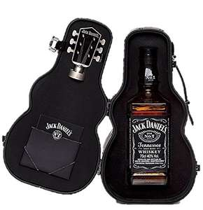 Jack Daniel's Old No.7 Guitar Case Whisky Gift Pack, 70 cl £31.33 at Amazon