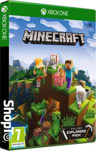 Minecraft Inc Explorers Pack (Xbox One) £14.86 Delivered @ Shopto